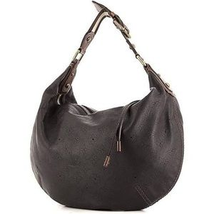 Onatah Hobo Cuir GM Perforated Leather Mono, Brown